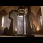 Something deep inside the Dalek city maybe?