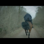 The Doctor on a horse again despite Capaldi\'s fear of them