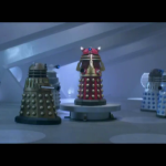 Yup that is the Dalek Supreme from The Stolen Earth/Journey's End but mor importantly behind him is a Special Weapons Dalek